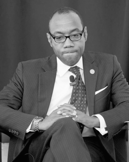 Cornell William Brooks, NAACP CEO, Confronts Police Brutality