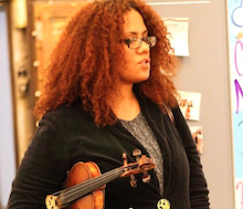 Alida Londais LaCosse, Music Educator, Madison Metropolitan Public Schools/Strings Teacher & Choir Director, Madison Music Makers/WORT Radio Station producer for The Insurgent Kiosk