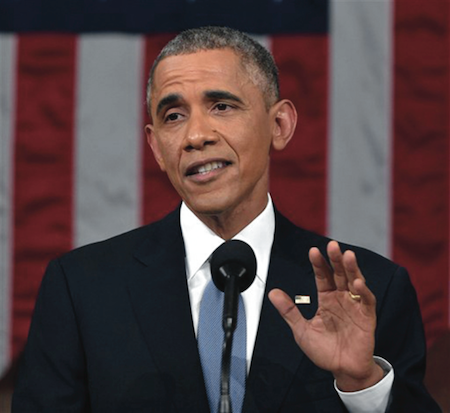 In this Jan. 20, 2015, President Barack Obama delivers his State of the Union address to a joint session of Congress on Capitol Hill in Washington. The White House said Tuesday, Jan. 27, it is dropping a proposal to scale back the tax benefits of college savings plans amid a backlash from both Republicans and Democrats. (AP Photo/Mandel Ngan, Pool)