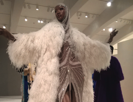 Milwaukee Public Art Museum: Ebony Fashion Fair Exhibition