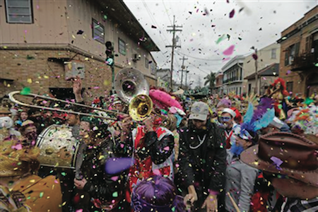 Mardi Gras' Fat Tuesday Revelry Kicks Off