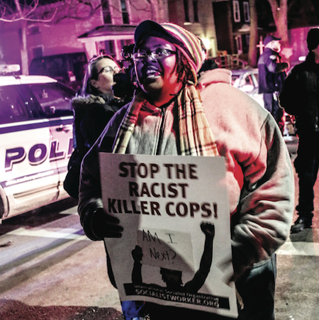 Fatal Police Shooting of Unarmed African-American Teen Sparks Protest