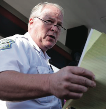 Ferguson, MO Police Chief Resigns