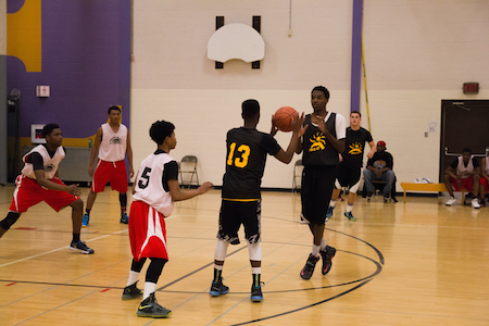 MSCR Holds High School Basketball Tournament