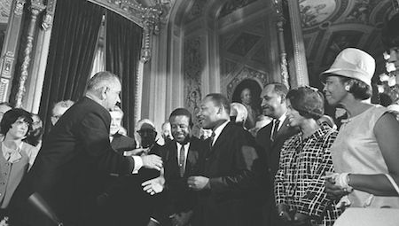 Commemorating the 50th Anniversary of Voting Rights Legislation