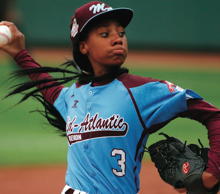 Little League Star Mo'ne Davis Named AP's 2014 Female Athlete Of The Year