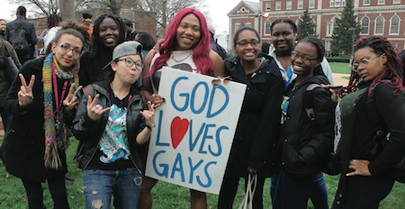Anti-Gay Protest Backfires at Howard University