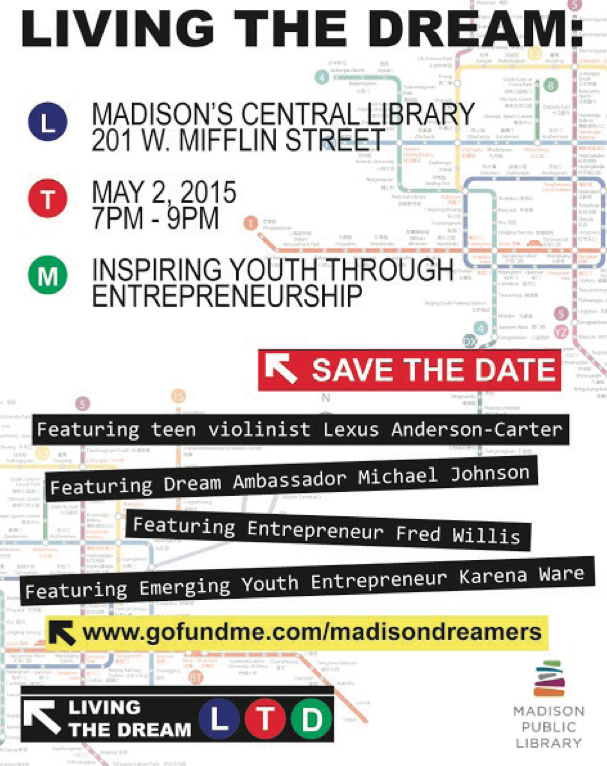 Event Spotlight: LIVING THE DREAM: Inspiring Youth Through Entrepreneurship