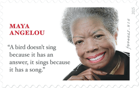 Maya Angelou is the Face of the Newest Forever Stamp