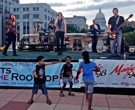 Dancing with a View: The Monona Terrace Concerts on the Rooftop
