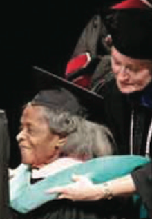 First Black Nursing Grad Receives Honorary Degree