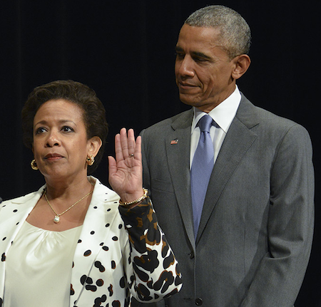 Lynch's Installation as Attorney General Overshadowed by Charleston Tragedy