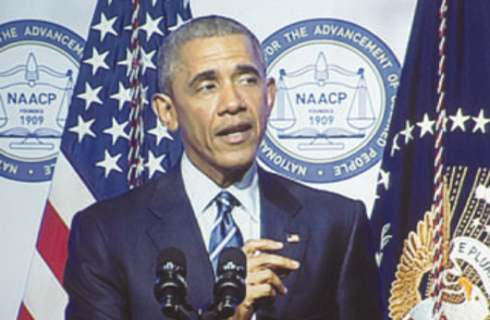 Obama: Prison Reform Needed – President Strong in NAACP Speech