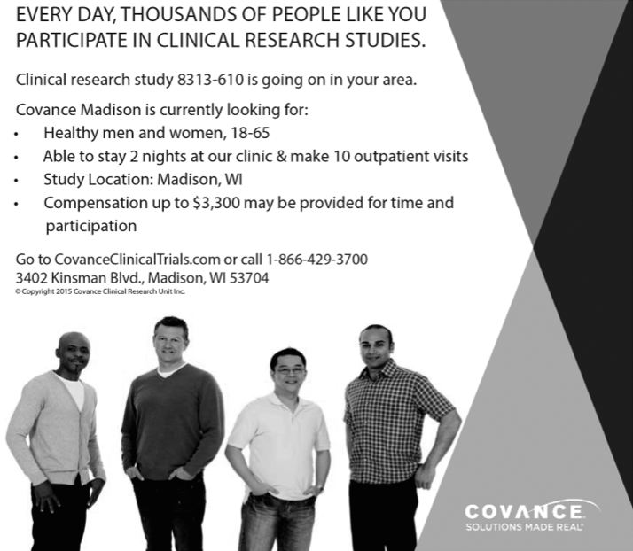 Advertisement: Covance