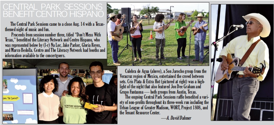 Central Park Sessions Benefit Centro Hispano