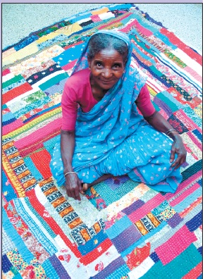 Madison Children's Museum exhibit showcases African India patchwork quilts
