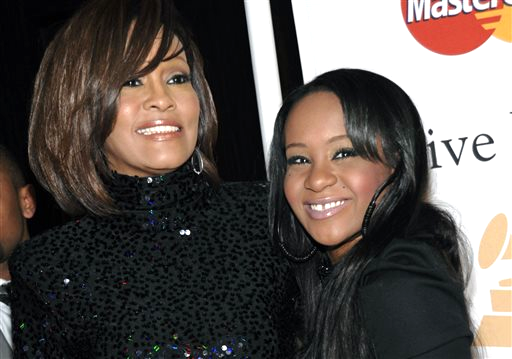 Whitney Houston and daughter Bobbi Kristina Brown