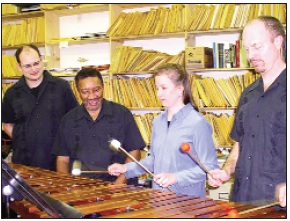 Marimba Quartet to play 18th annual Our Gift to You