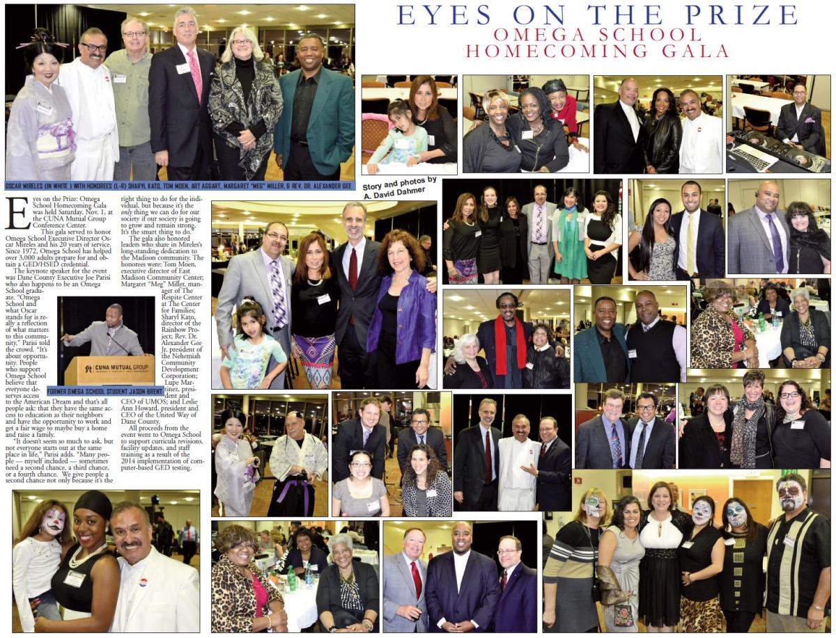 Eyes on the Prize:  Omega School Homecoming Gala