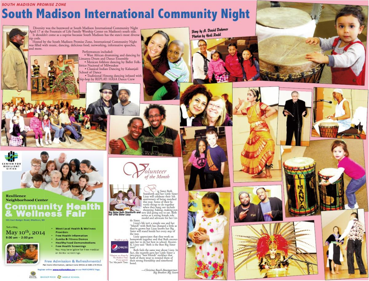 South Madison International Community Night